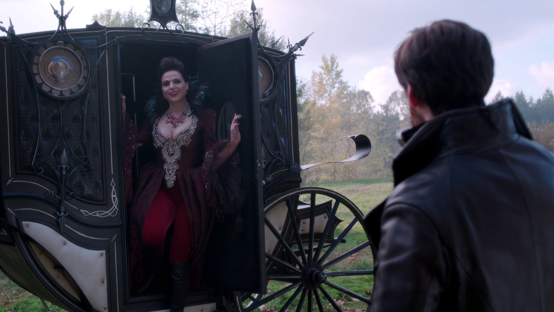 Evil Queen's Carriages