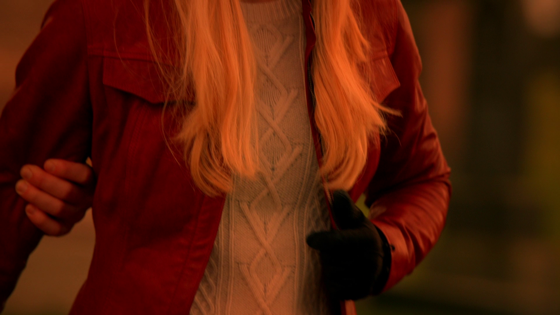 Emma's Red Leather Jackets