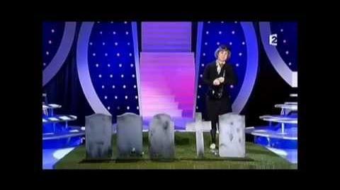 Je fais ma visite annuelle au cimetière