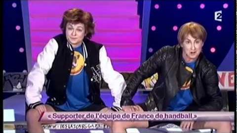 Supporter de l'équipe de France de handball