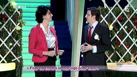 Steeven et Christopher - Pour ou contre le mariage pour tous - ONDAR prime -09 02 2013
