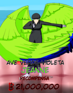 Ave Verde Violeta