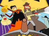 Saga de la Gran Guerra de Jade/Piratas Freak: Arc Zero