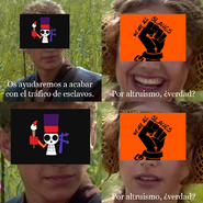 Piratas Freak y Todos Somos Esclavos Anakin meme