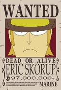 Eric Skorup recompensa