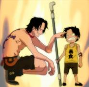 Ace y Ace pequeño