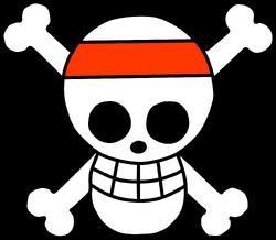 Jolly Roger Piratas Vincha Roja.png