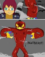 Maxwell activa el Paintbeast