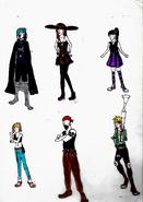 Bocetos vestuario 1