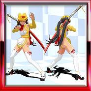 Saki Dream Hostess Omelet Yellow