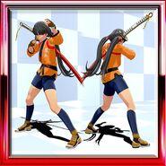 Saki Gi Dragon Orange