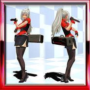 Lei Work Uniform Pirate Red