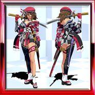 Aya Saki's Fantasy Courtesan Red