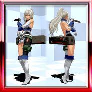 Lei Uroboros Combat Uniform Cyber Blue