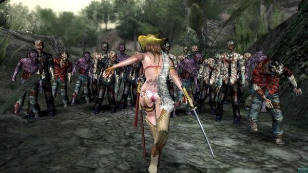One Chanoara Bikini Zombie