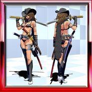 Aya Normal Combat Uniform Metallic Black