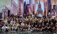 One Direction und Crew 2013 Take Me Home Tour