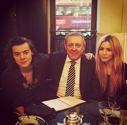 Harry, Des und Gemma Styles