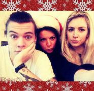 Harry Styles, Anne Twist, Gemma Styles