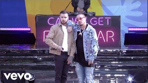 Liam Payne, J Balvin - Familiar (Live On Good Morning America 2018)