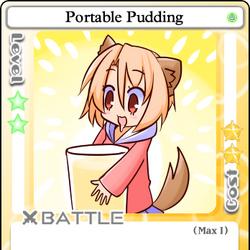 Portable Pudding