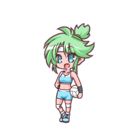Miusaki's Volleyball