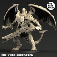 Hive Lord Wings and Gun