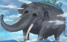 L'elefant colossal Zunesha