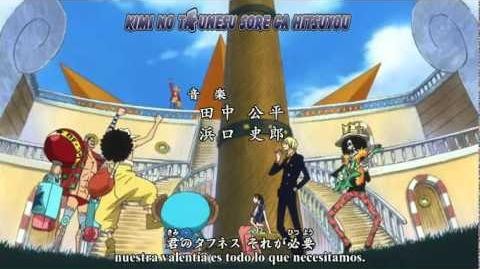 One Piece - We Go