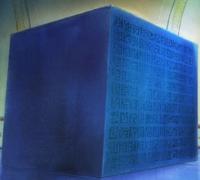 El Poneglyph de la Tomba dels Reis d'Alabasta.