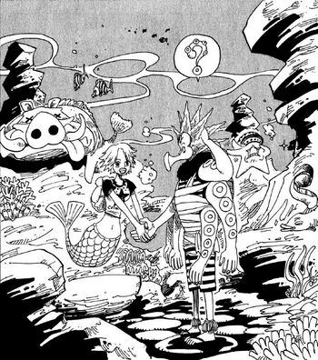 El passeig de l'Octy pel fons marí