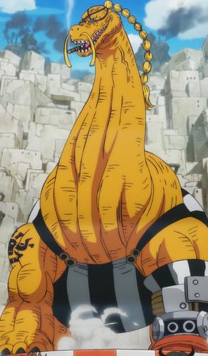 Ryu Ryu no Mi (Model Braquiosaure)