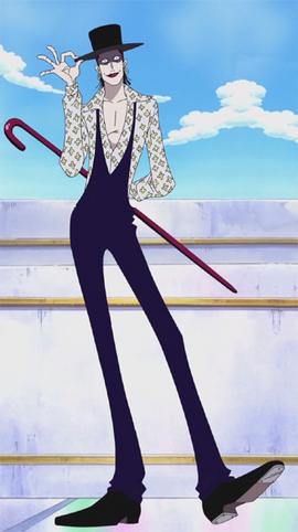 Laffitte dalam anime