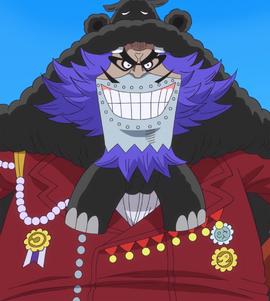 Wapol tras el salto temporal en el anime