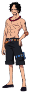 Ace Anime Concept Art