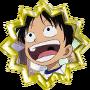I. Badge Or Arc Romance Dawn Monkey D. Luffy Jeune.png
