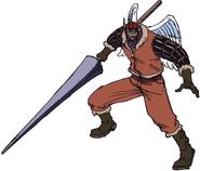 Shura Anime Concept Art