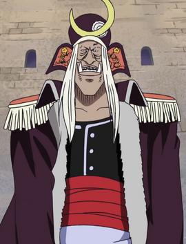 Mikazuki in the anime