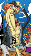 Hammond Digitally Colored Manga