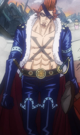 X Drake after the timeskip in the anime