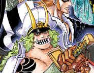 Sasaki Manga Color Scheme