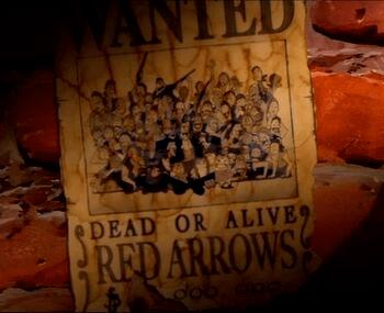 Piratas Red Arrows