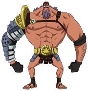 Burgess Anime Concept Art