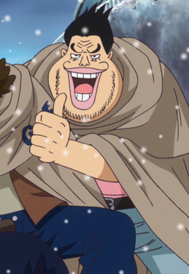 Bomba (Marine) in the anime