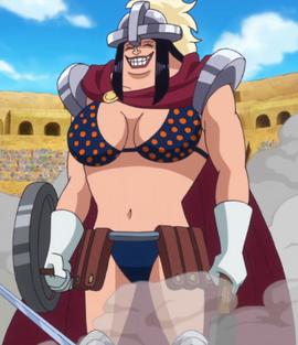Acilia in the anime