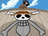 Веселый Роджер Пиратов Соломенной Шляпы