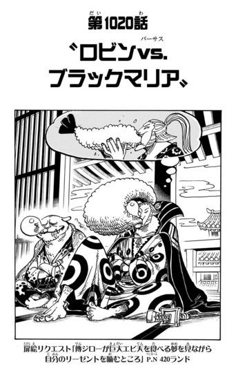 Chapter 1020
