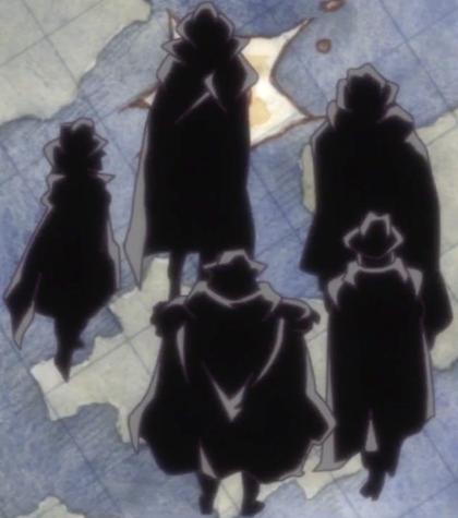 Cinq Familles de West Blue