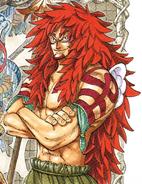 Kalgara Manga Color Scheme