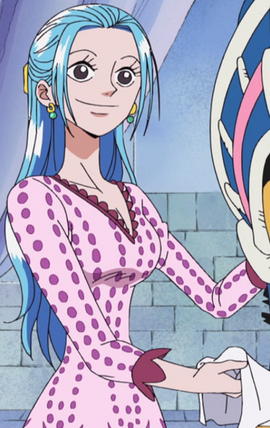 Nefeltari Vivi before the timeskip in the anime